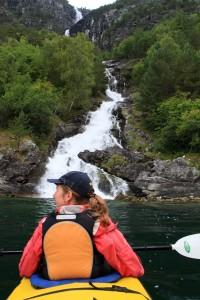 L'avantage du Kayak, c'est qu'on peut aller ou on veut !