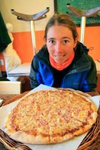 Apres 3 jours a manger du Canigou sur un bateau ... une Pizza bien huileuses, ça n'a pas de prix.