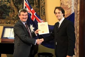 Voilà, je suis officiellement Australien