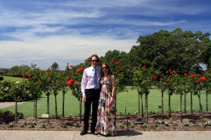 Le deuxième plus beau couple de la journée (après les mariés, of course) : nous :-p