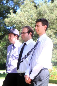 Tim, Alen et Florian