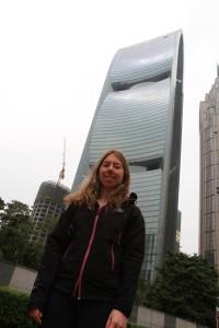 Super architecture au centre de Canton, y'a vraiment des gratte-ciels très créatifs et osés !